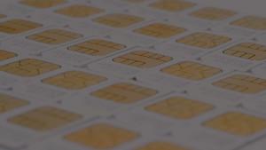 M2M SIM Card Background