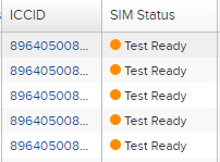 Test Ready SIMs